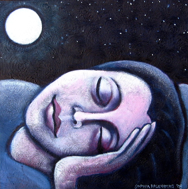 Some nights she Dreams of Wholeness