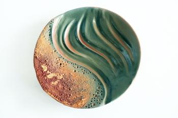 350.Amelia-Johannsen-Ceramic-Plates-Calm-Sea