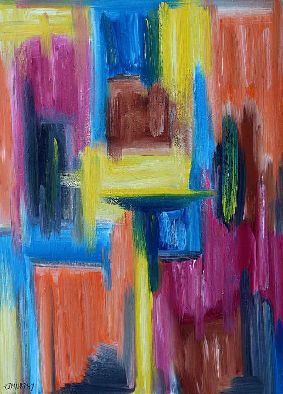 IMAGE 1 ABSTRACT 78 oil paint