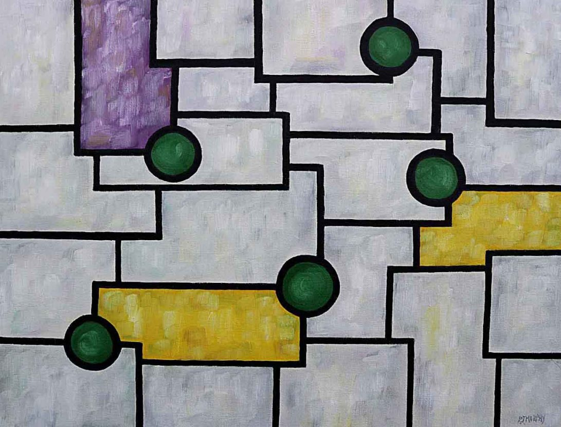 IMAGE 9 ABSTRACT 109 oil paint