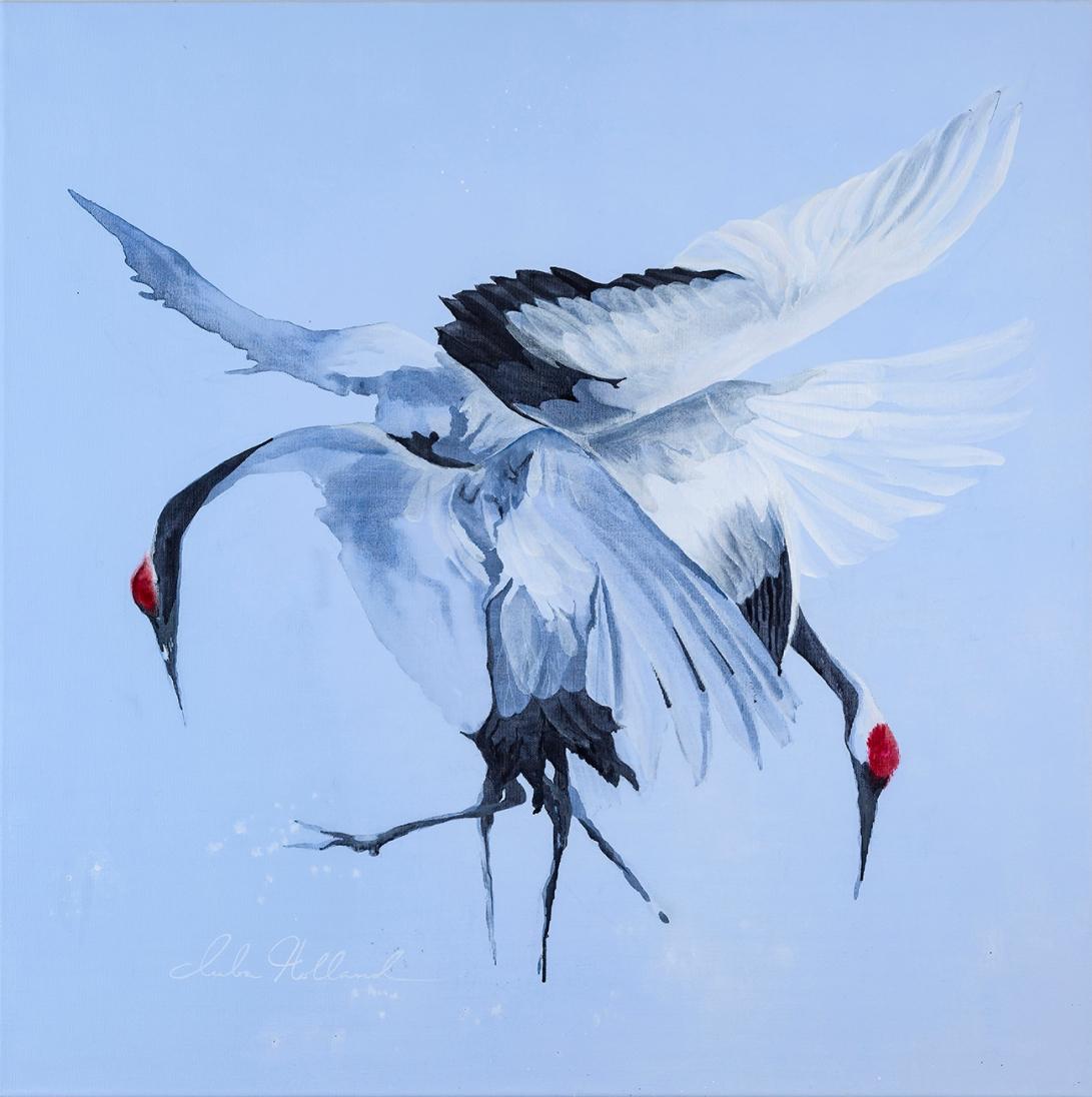 Luba Holland - Ballet 80x80 cm