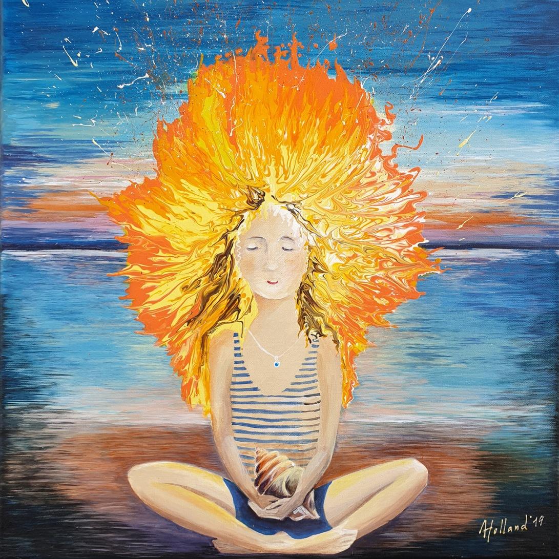Luba Holland - Elements 50x50 cm