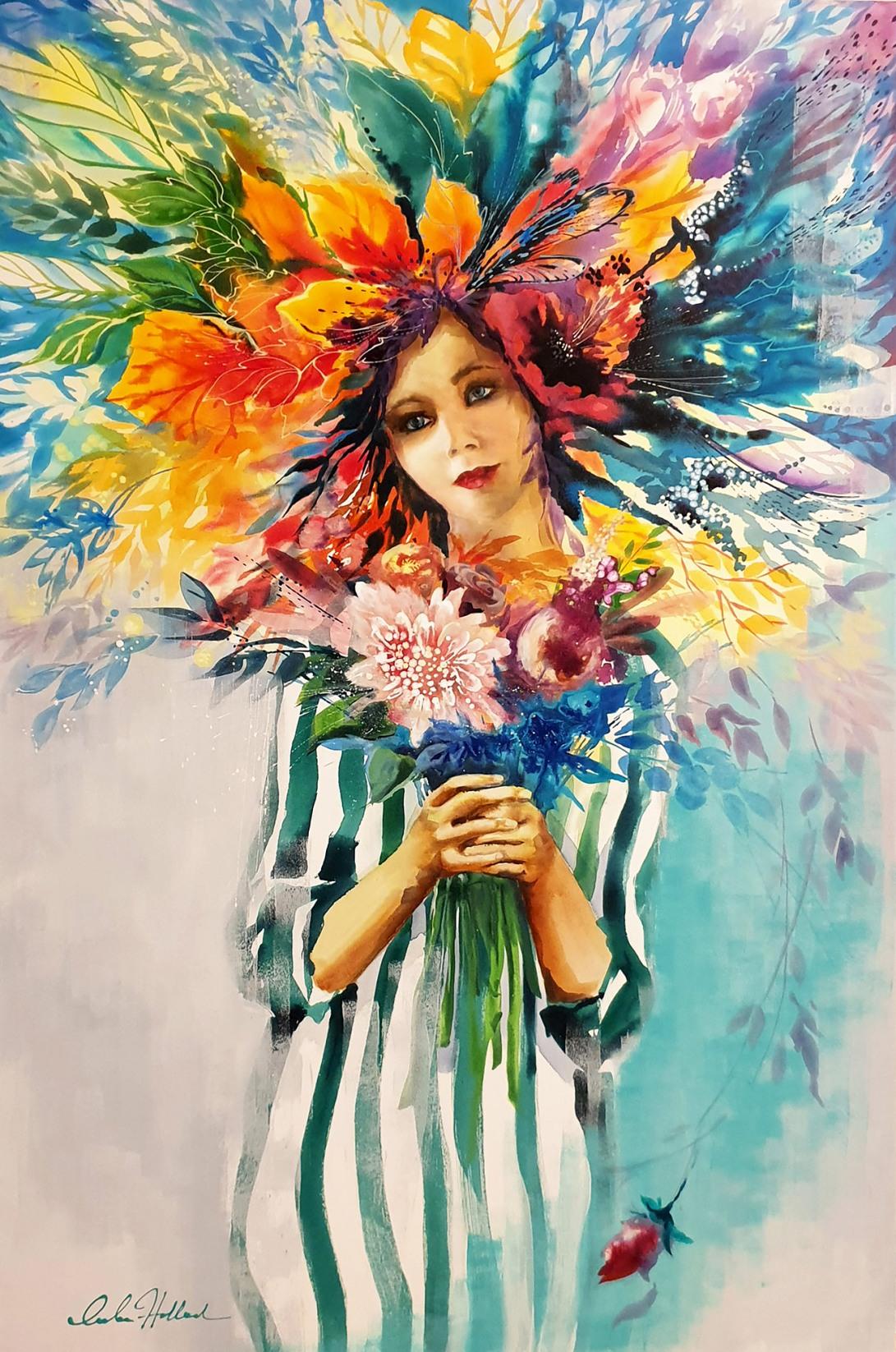 Luba Holland-Flora 100x150cm