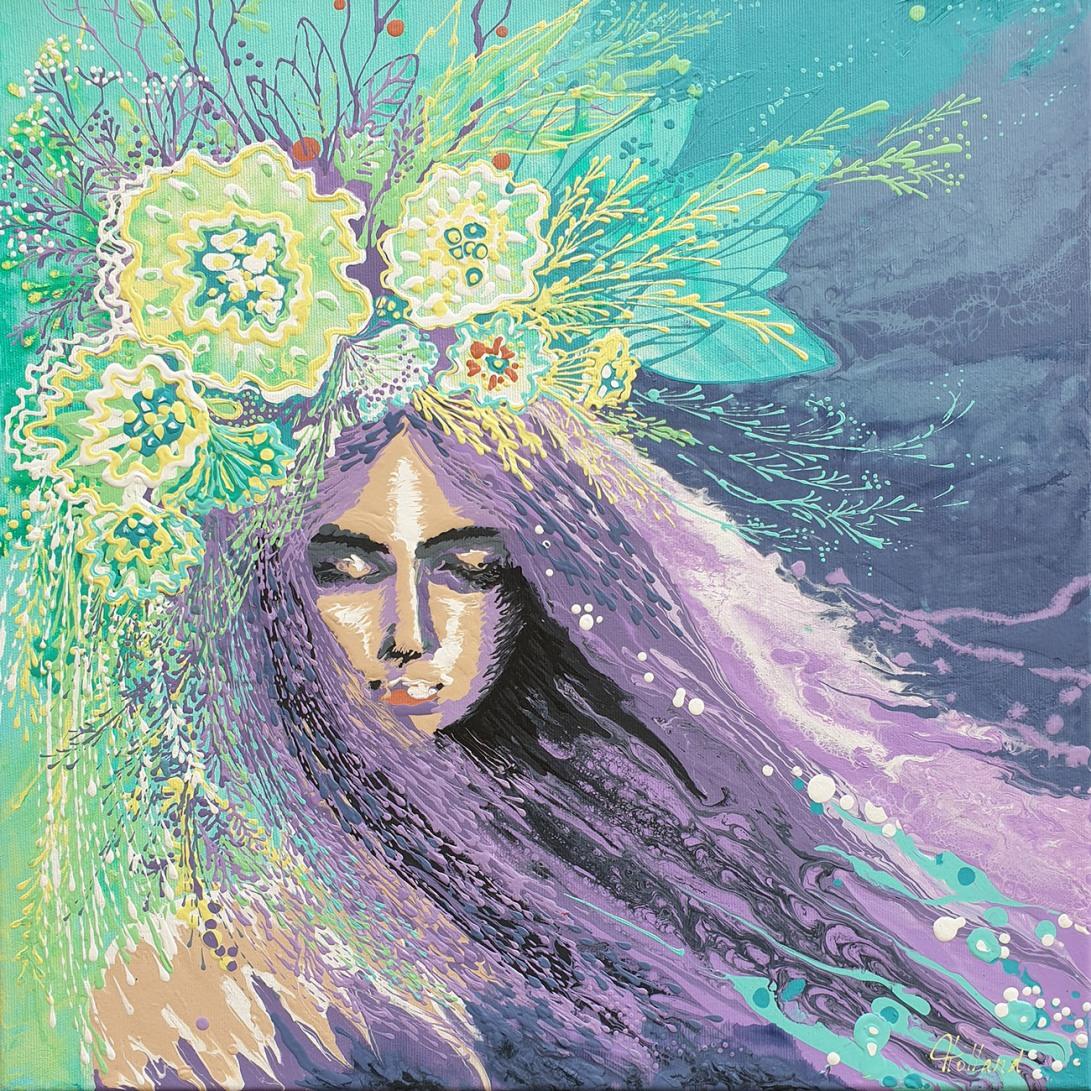 Luba Holland-Lavender sleep 50x50 cm