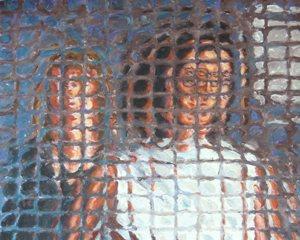 300.PA-2012-23 Coppia notturna (cm 40 x 50 - acrilico su tela)