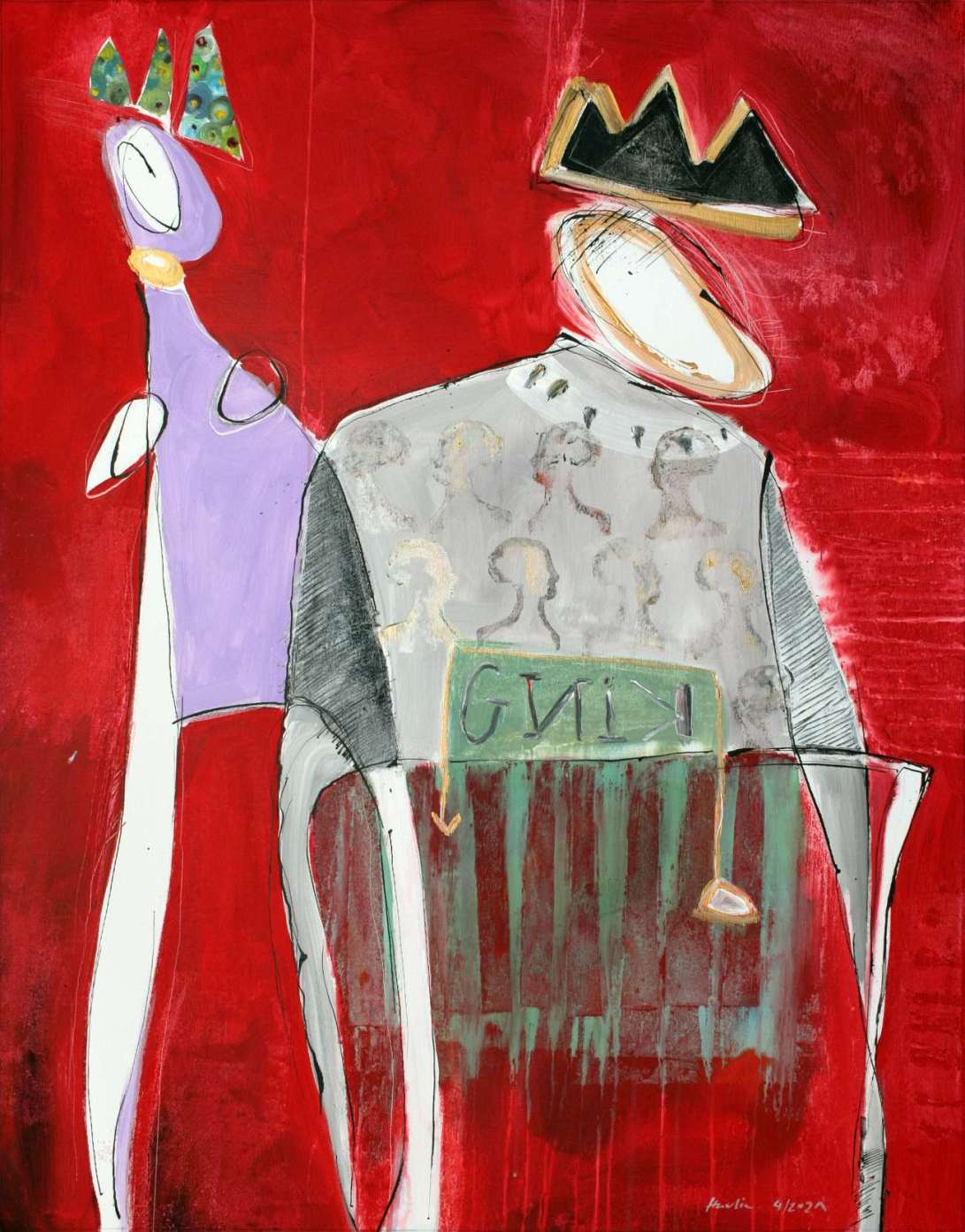 The Old King_2021.4_115x90 cm